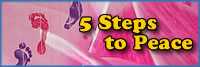 5 steps to peace